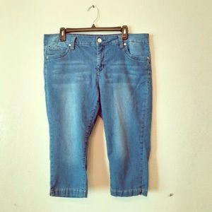 Crop Western pocket Jeans GUC